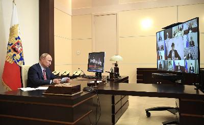 Президент России Владимир Путин: «Единый государственный экзамен начнётся 29 июня»