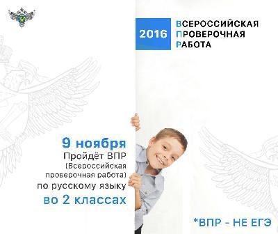 Второклассники и пятиклассники области напишут Всероссийские проверочные работы